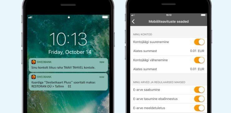 swedbank mobiiliteavitused