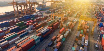 konteinerid, sadam, eksport, välisnõudlus
