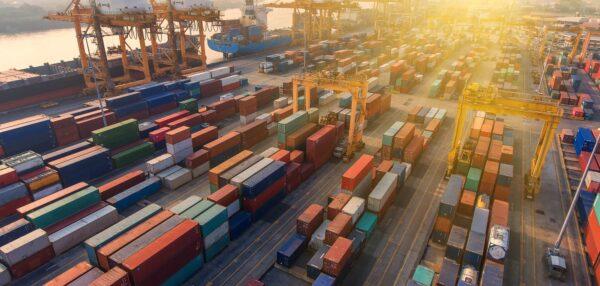 konteinerid, sadam, ekspordikasv, eksport
