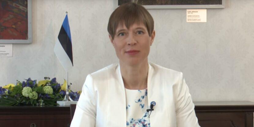 e-külalistund, Kersti Kaljulaid