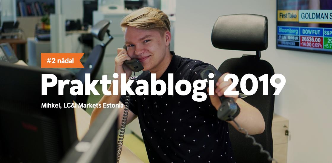 Närv on sees – esimene kõne Swedbanki LC&I maaklerite tiimis!
