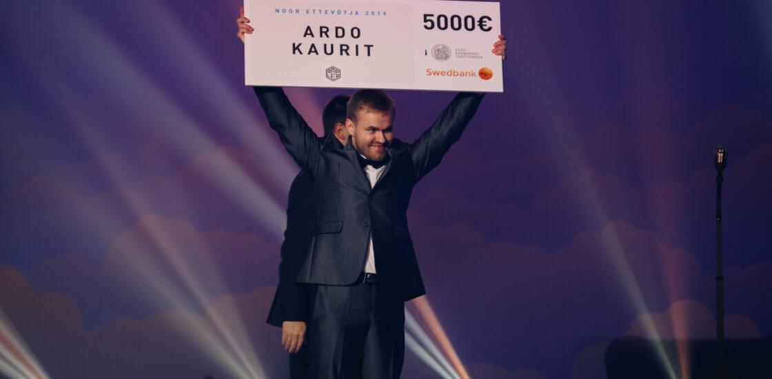 Aasta noore ettevõtja tiitli sai Ampler Bikes asutaja ja tegevjuht Ardo Kaurit