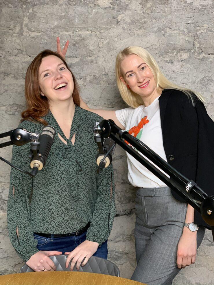 Riin Tuttelberg ja Kati Voomets
